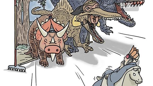 师傅看侏罗纪