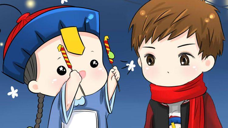 春节快乐,你会嫌弃我吗?