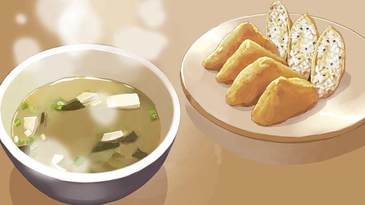 第43话 味噌汤和油豆腐寿司