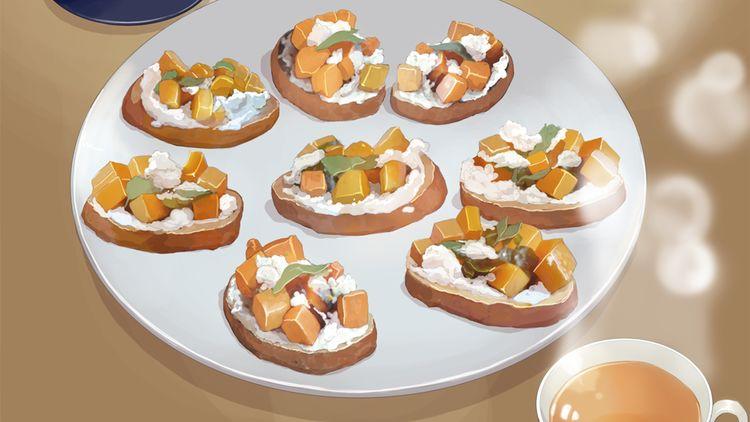 第二季 第5话 甜柿子烤面包片